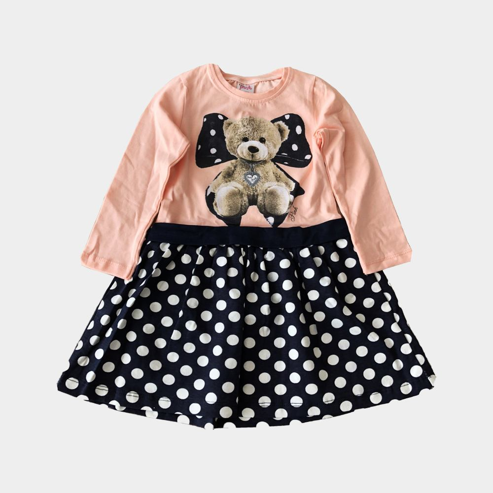 Baby Sommerkleid Material: Hochwertige Baumwolle und Polyester, weich, elastisch, atmungsaktiv, leicht und bequem.