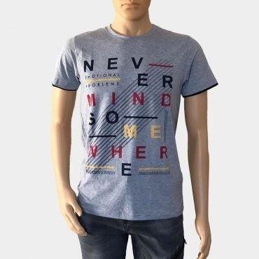 Elvis bedrucktes T-Shirt Slim Fit 100% Baumwolle