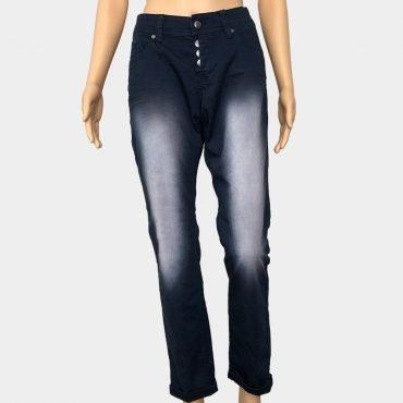 "Q/S by S.Oliver Jeans ""Catie"" blau Stone-Washed mit Knöpfe Slim Fit"
