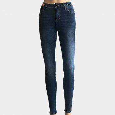 YesPink Damen Jeanshose Skinny High Waist Hochbund Stretch