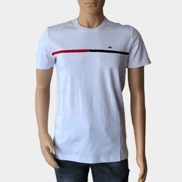 Zinzolin T-Shirt für Herren, weiß aus 100% Baumwolle