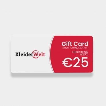 KleiderWelt 25 euro Giftcard