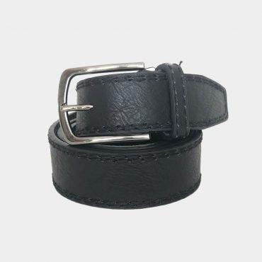 Herren Ledergürtel für Jeans oder Anzug Echtleder in zwei Farben 4cm breit nickelfreie Schnalle Schnalle ist leicht zu bedienen stylischer Look
