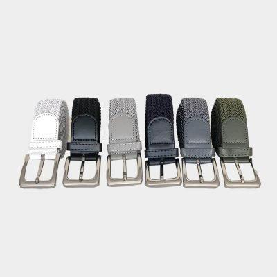 Stretchgürtel Flechtgürtel für Damen und Herren dehnbar 105cm bis 125cm